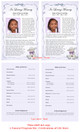 Dreamstime Funeral Flyer Half Sheets Template