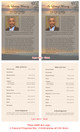 Kenya Funeral Flyer Half Sheets Template inside view