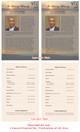 Kenya Funeral Flyer Half Sheets Template inside view