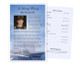Navy Funeral Flyer Half Sheets Template