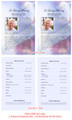 Patriot Funeral Flyer Half Sheets Template inside view