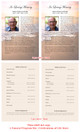 Radiance Funeral Flyer Half Sheets Template inside view