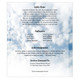 Blessed Legal 8-Sided Graduated Program Template back