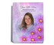 Sparkle Perfect Bind Memorial Guest Registry Book 8x10 with photo
