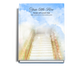 Stairway Perfect Bind Memorial Guest Registry Book 8x10