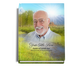 Tranquil Perfect Bind Funeral Guest Book Sign-In 8x10 with photo