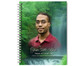 Cascade Spiral Wire Bind Memorial Guest Book with photo