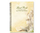 Cherub Spiral Wire Bind Memorial Guest Book