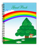 Delight Spiral Wire Bind Memorial Guest Book Registry