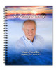 Dusk Spiral Wire Bind Memorial Guest Book Registry with photo