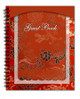 Dynasty Spiral Wire Bind Memorial Guest Book Registry