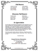 Cadence Large Tabloid Funeral Booklet Template back cover