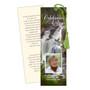 Graceful DIY Funeral Memorial Bookmark Template