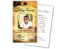 Island Prayer Card Template