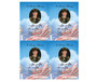 Air Force Flat Card Template front