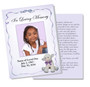 Dreamstime DIY Funeral Card Template