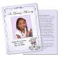 Dreamstime DIY Funeral Card Template