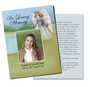 Eve Enlighten DIY Funeral Card Template