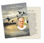 Flight Enlighten DIY Funeral Card Template