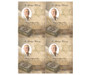 Jewish DIY Funeral Card Template front