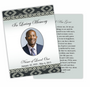 Nigeria DIY Funeral Card Template