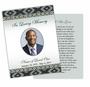 Nigeria DIY Funeral Card Template