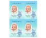 NurseryBoy DIY Funeral Card Template front