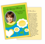 Playful DIY Funeral Card Template