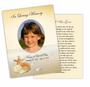 Seashore DIY Funeral Card Template