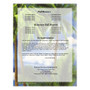Paradise Small Folded Memorial Funeral Card Template back view