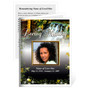 Serene Small Folded Funeral Card Template