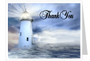 Lighthouse Thank You Card Template