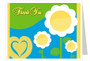 Playful Thank You Card Template