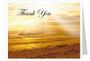 Shine Thank You Card Template
