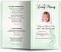 angela green Funeral Program Template