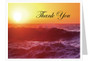 Twilight Funeral Thank You Card Template