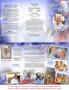 Patriot DIY Legal Funeral Tri Fold Brochure Template inside view