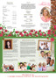 Auster Large Tabloid Trifold Funeral Brochures Template inside view
