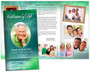 Cascade Large Tabloid Trifold Funeral Brochures Template