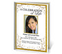 Affinity A4 Program Funeral Order of Service Template