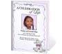 Dreamstime A4 Funeral Service Program Template