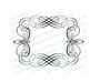 Adagio Elegant Vector Flourish Border