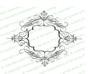 Champagne Elegant Flourish Frame Design