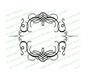 Florentine Elegant Vector Flourish Border
