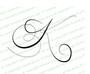 Monogram Letter K