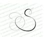 Monogram Letter S