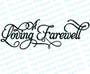 A Loving Farewell 2 Funeral Program Title