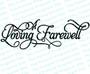 A Loving Farewell 2 Funeral Program Title