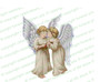 Joyous Angels Vector Funeral Clipart light skin