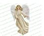 Spirit Angel Funeral Clipart light skin